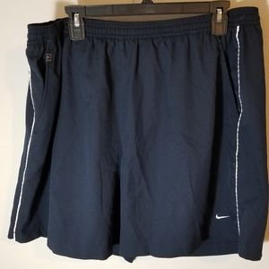 Nike Jogging Shorts Blue Size XXL